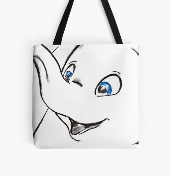 Where Pictures Shine - Dumbo All Over Print Tote Bag