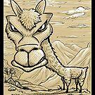 Llama by Rustyoldtown