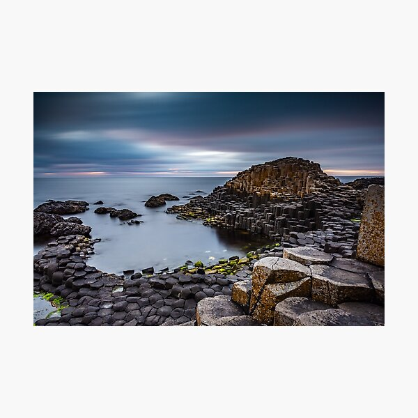 Giants Causeway County Antrim Northern Ireland Landscapes Photographic Print