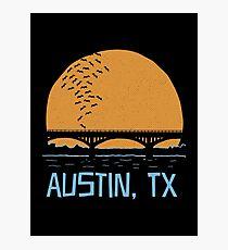 Austin Texas Bat Bridge  Photographic Print