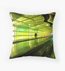 Where they converge... Throw Pillow