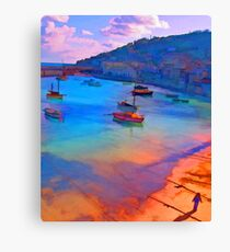 Mousehole Harbor, Cornwall - UK Canvas Print