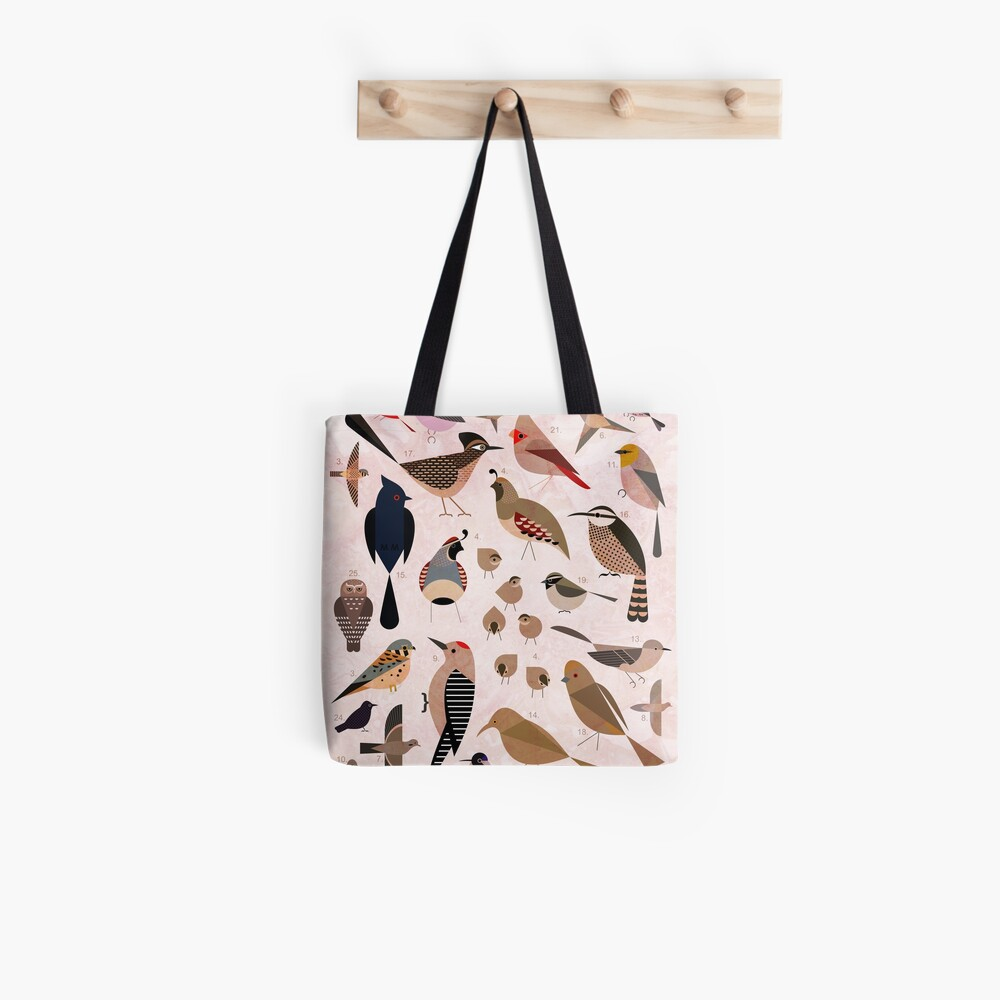 Sonoran Birds Tote Bag