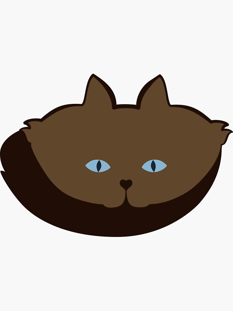 Chai Brown Cat Cattern [Cat Pattern] by brentpruitt