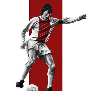 Johan Cruyff - Ajax by barrymasterson