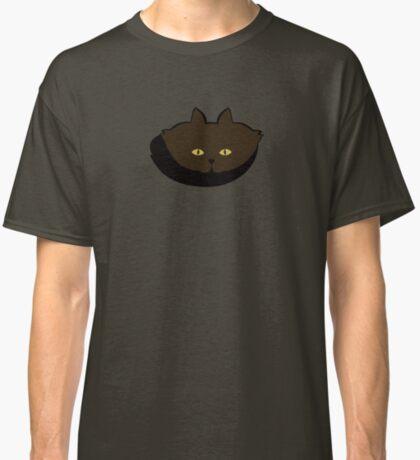 Mocha Brown Cat Cattern [Cat Pattern] Classic T-Shirt