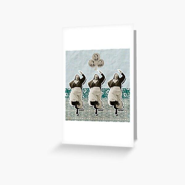 Dance, Dance, Dance Greeting Card