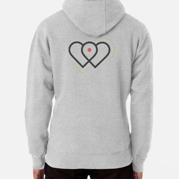 Two Hearts Pullover Hoodie
