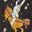 Hotdog Space Rodeo von AnnaShell