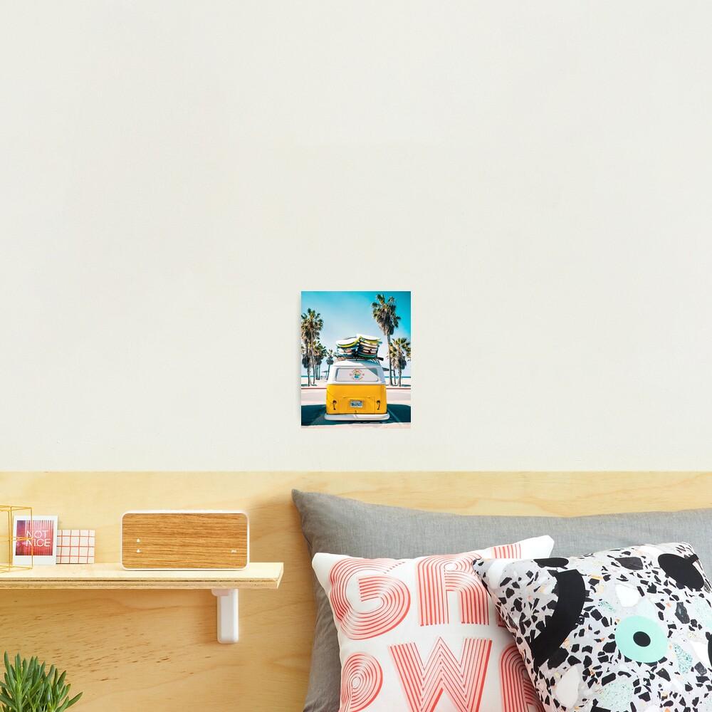 Van Life - Yellow Photographic Print