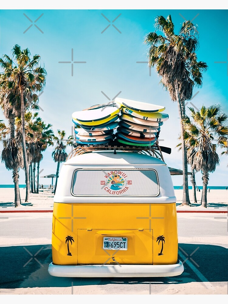 Van Life - Yellow by galdesign