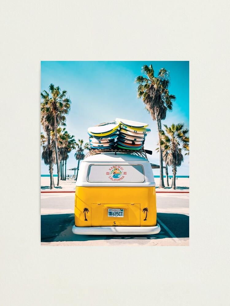Alternate view of Van Life - Yellow Photographic Print