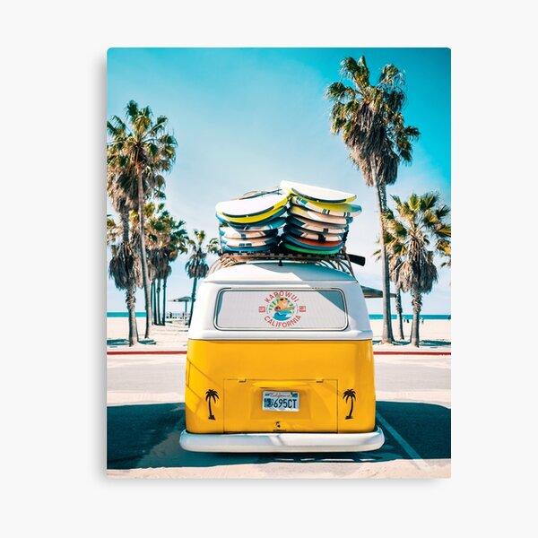 Van Life - Yellow Canvas Print