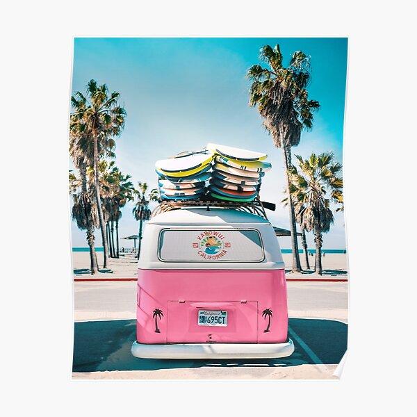 Van Life - Pink Poster