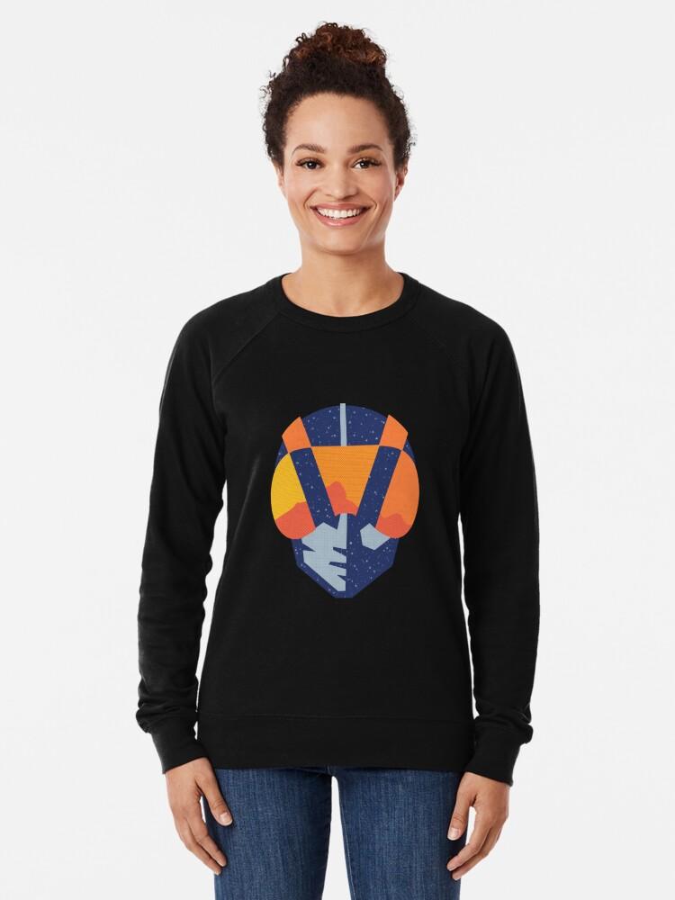 Alternate view of Art Las Vegas aviators logo Lightweight Sweatshirt