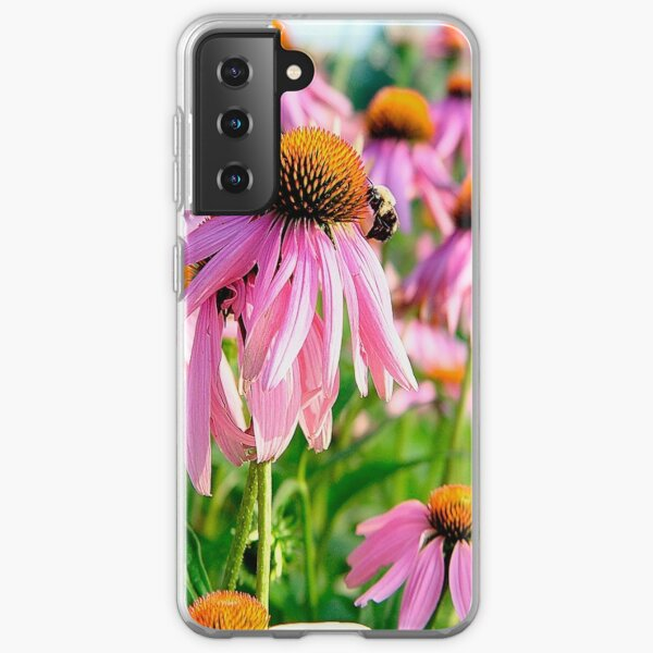 Photographie de fleurs Coque souple Samsung Galaxy