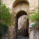 Cordes-sur-Ciel main gate by 29Breizh33