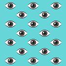 Augen weit offen - Aqua von daisy-beatrice