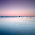 Tranquility at Sunset - Selsey, West Sussex by Kathy White