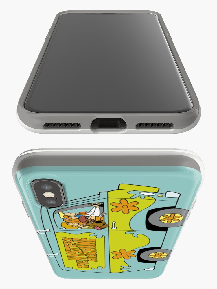 Vista alternativa de Funda y vinilo para iPhone Scooby Doo Mystery Machine