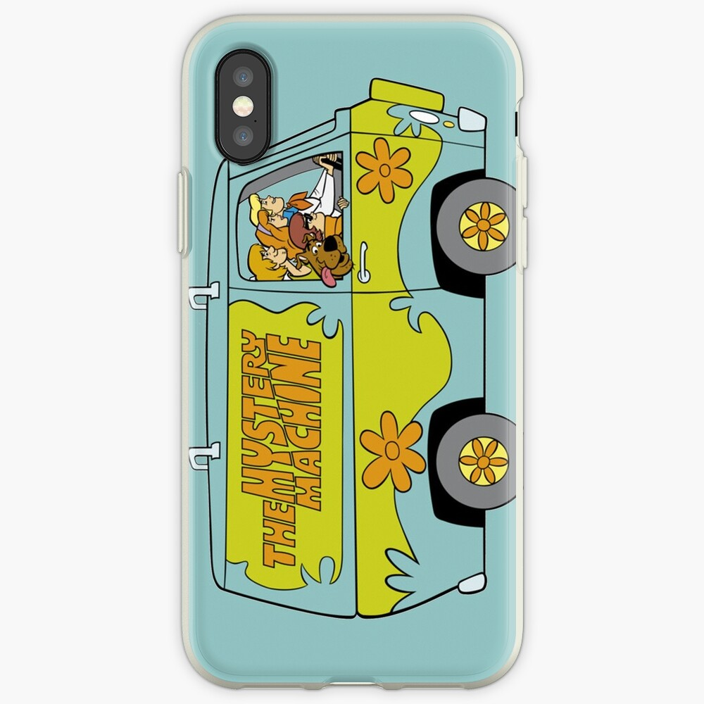 Scooby Doo Mystery Machine Funda y vinilo para iPhone