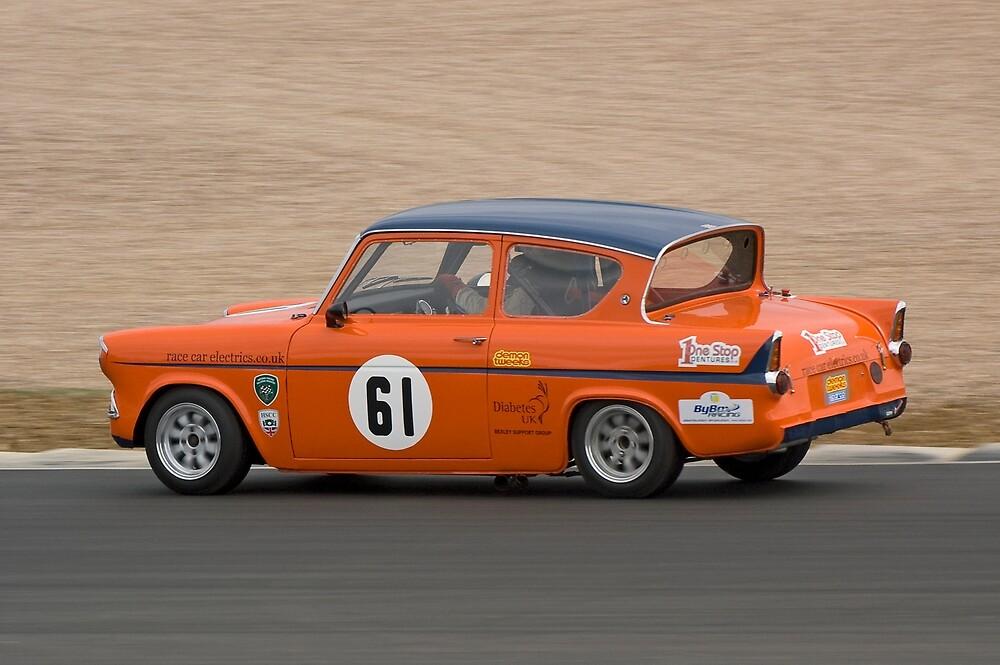 Ford Anglia 105E by Willie Jackson