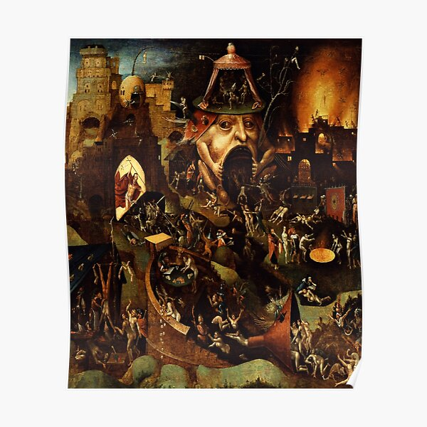 Christ in Limbo by Hieronymus Bosch Poster