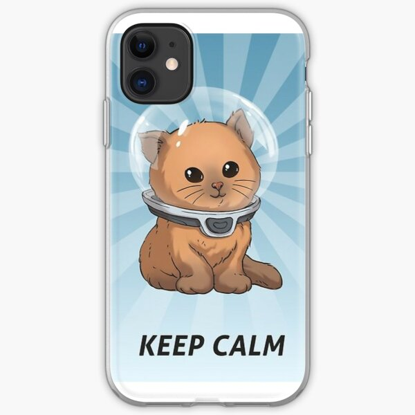 """Subnautica """"Keep Calm"""" Posters Official iPhone Soft Case"""