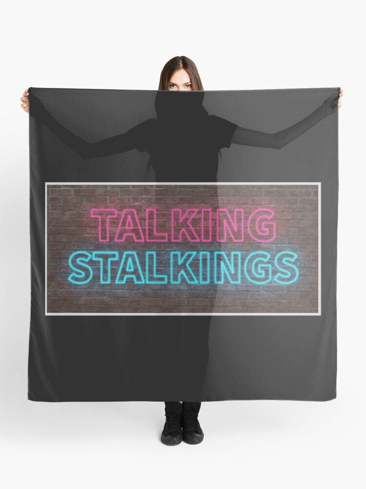 Talking Stalkings Sign Scarf By Tossedsweetcorn Redbubble Choose from 650+ hand wash graphic resources and download in the form of png, eps, ai or psd. talking stalkings sign scarf by tossedsweetcorn redbubble