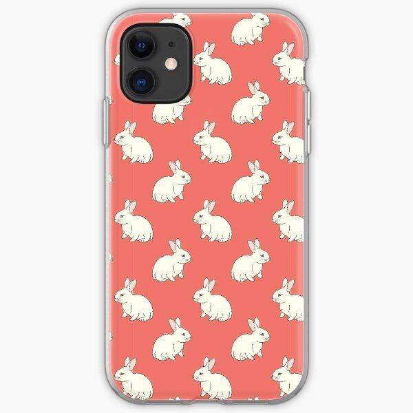 White Rabit iPhone Soft Case