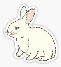 White Rabit Sticker