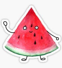 Super friendly watermelon Sticker