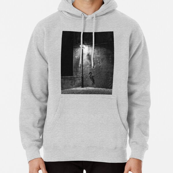 Light and shade Pullover Hoodie