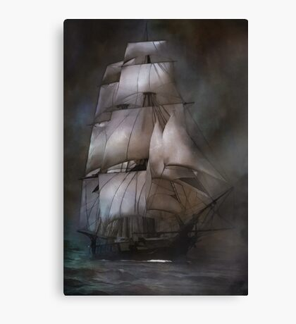 Sea stories II.... Canvas Print
