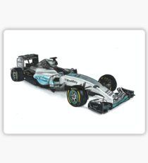 Mercedes W06 Sticker