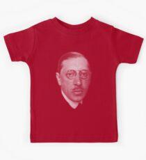 composer  Igor Stravinsky  Kids T-Shirt
