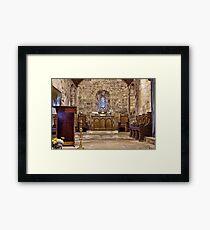 The Chancel Framed Print