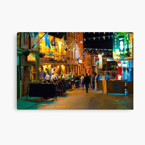 Quay Street, Galway, Ireland Canvas Print