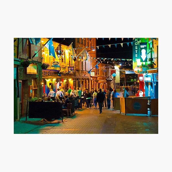 Quay Street, Galway, Ireland Photographic Print