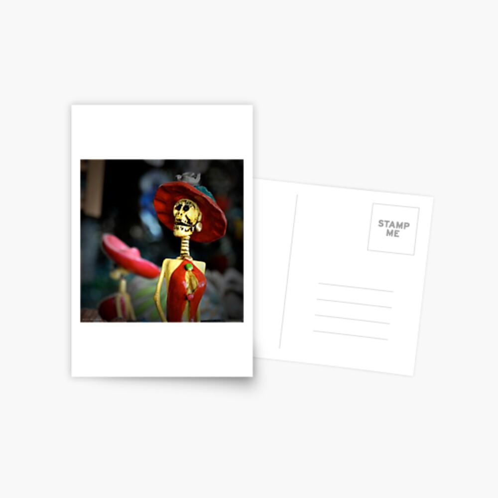 Bone Girl Postcard