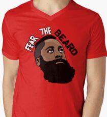 James Harden: Fear the beard  Men's V-Neck T-Shirt
