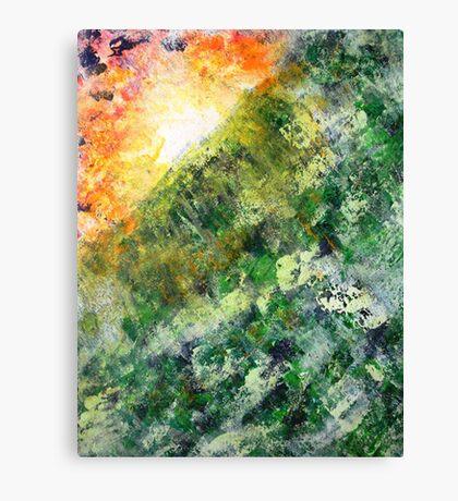 Sunrise over the Jungle Canvas Print