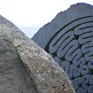 centenary stone - Derwent Water Keswick by monkeyferret