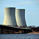 «Central eléctrica de Brayton Point _ Torres de enfriamiento» de Poete100