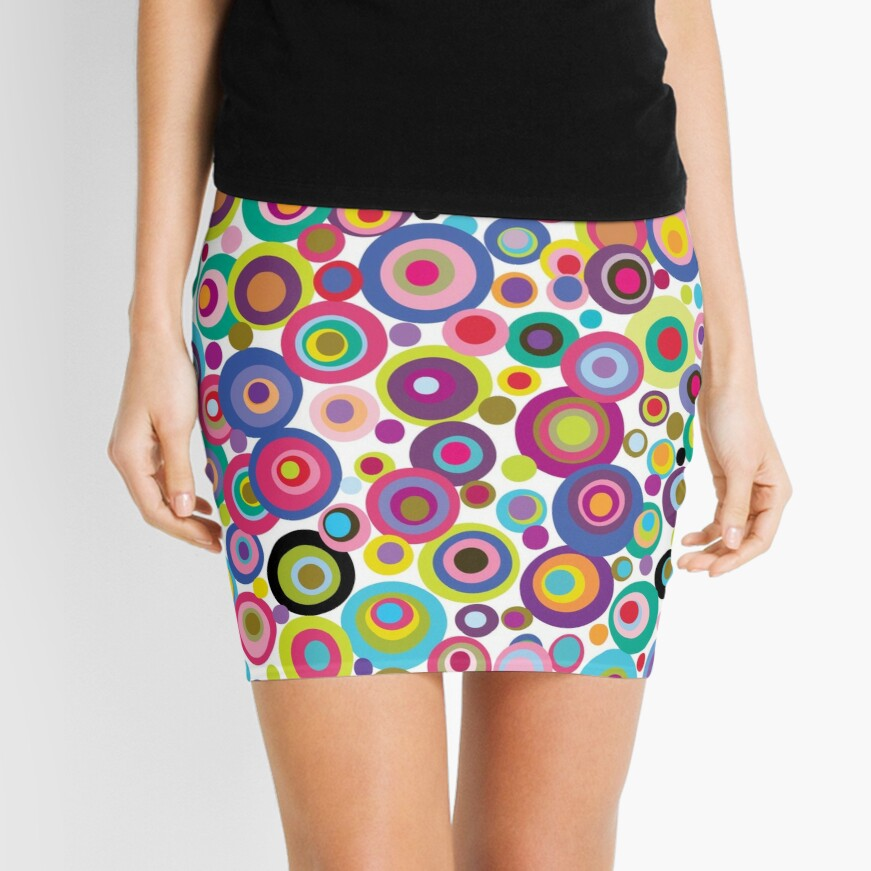 CONFETTI DOTS Mini Skirt