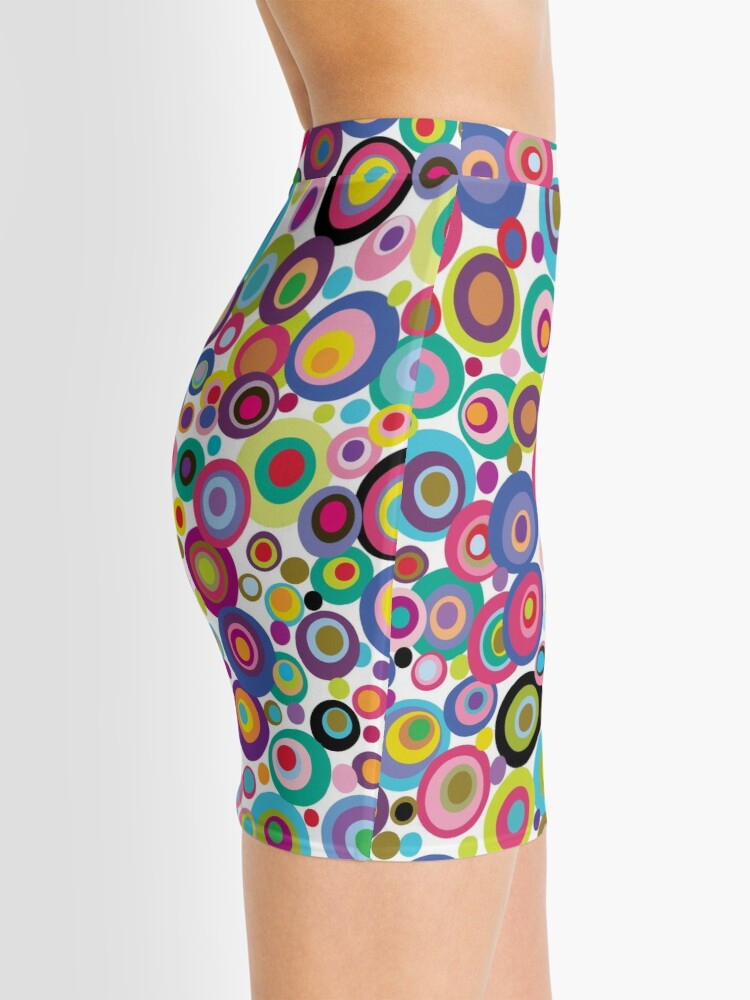Alternate view of CONFETTI DOTS Mini Skirt
