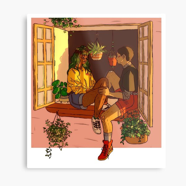 things that grow quietly in the sunshine Metal Print