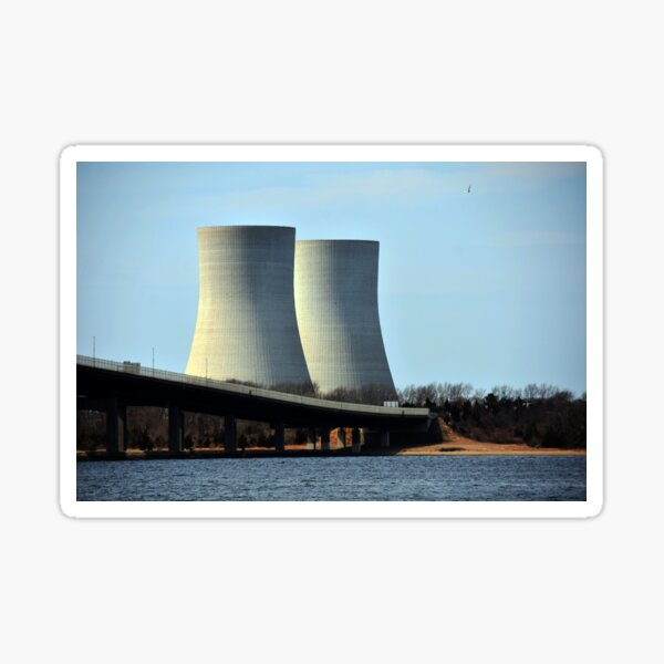 Brayton Point Power Station _ Cooling Towers Sticker