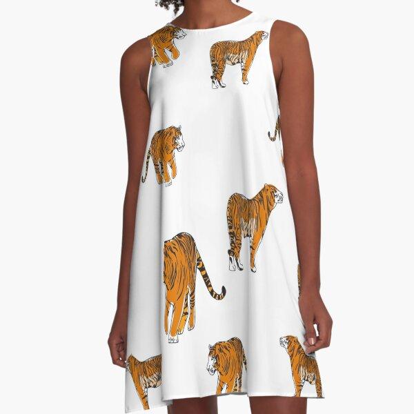 Tigers A-Line Dress