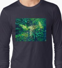 bright colored ferns 03/24/19 Long Sleeve T-Shirt